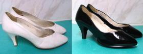 odnowienie i farbowanie starszych butów