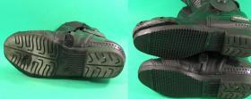 naprawa spodów w butach motocyklowych