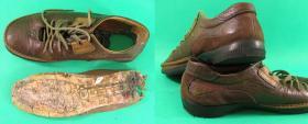 naprawa tylnej części spodów w butach sportowych