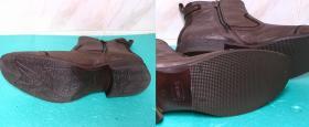 Fleki i zelówki antypoślizgowe w nowych botkach Mustang