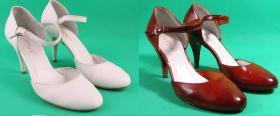 Farbowanie butów ślubnych Ryłko