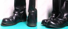 fleki i zelówki w męskich botkach