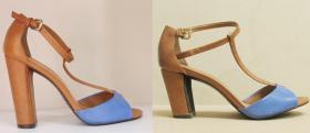 modelowanie obcasów w sandałkach Gino Rossi