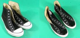farbowanie czubków gumowych w butach sportowych