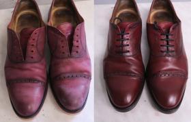 renowacja cholewek butów Berwick